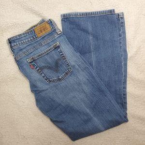 Levi's 545 Low Boot Cut Jeans Short